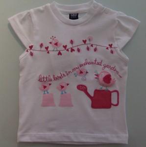 T-shirt menina Girândola